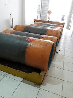 cilindros de gás cloro eta
