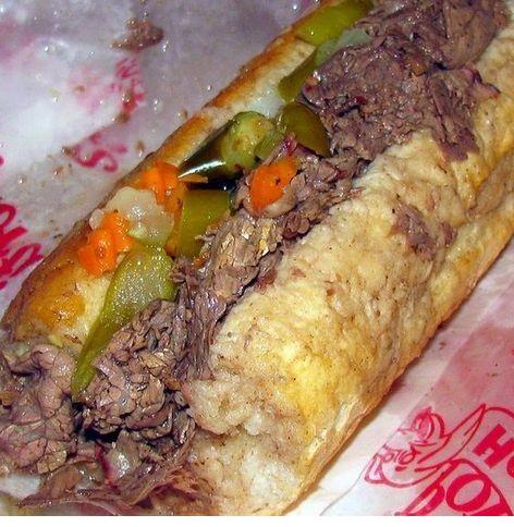 Season's Crock Pot Chicago Italian Beef Sandwiches
