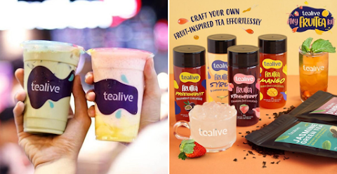 Tealive Malaysia Releases First-Ever DIY Fruitea Kit To Satiate All Your Fruit Tea Cravings