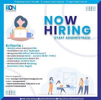 Lowongan Kerja PT RDN Artha Sentosa Bandung