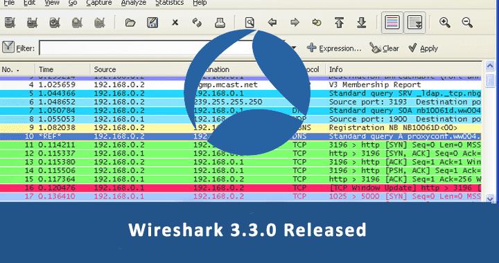 Wireshark 3.3.0