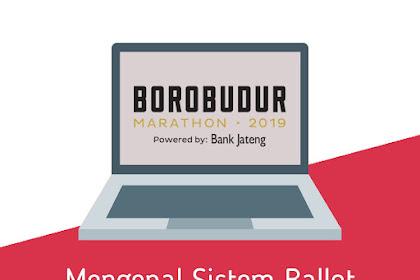 Mengenal Sistem Ballot Pada Pendaftaran Borobudur Marathon 2019