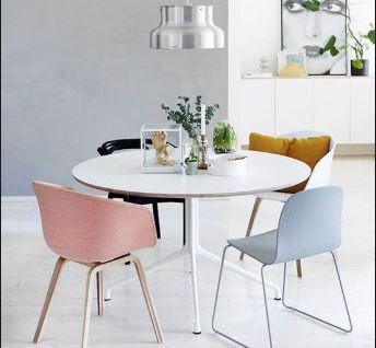Bàn ăn thông minh và ghế Eames là sự kết hợp tuyệt vời 1