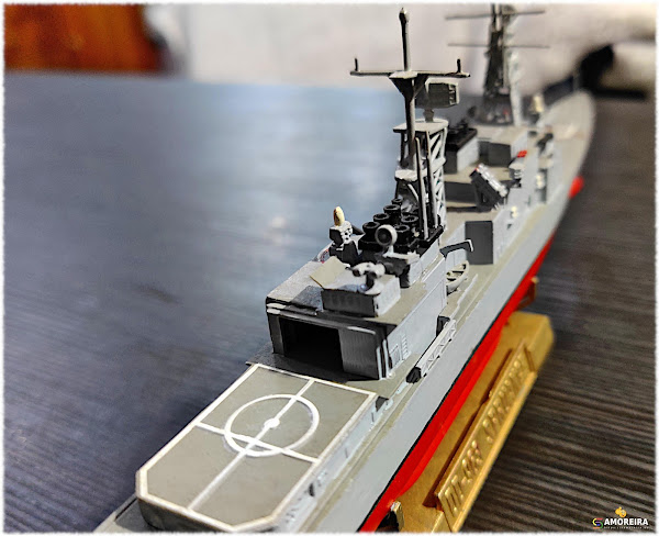 Destroyer - USS Spruance (DD-963)