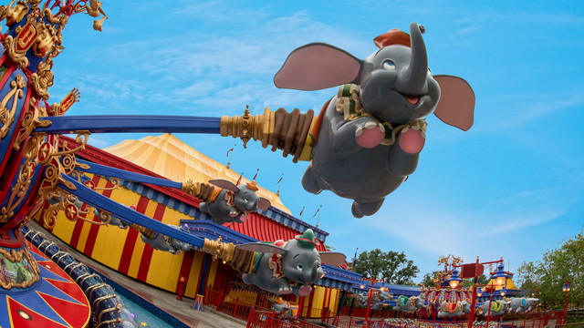 Walt Disney World Magic Kingdom Dumbo