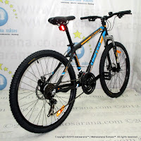 United Dallas XC77 4.2 Aloi 21 Speed QR Hub Sepeda Gunung 26 Inci