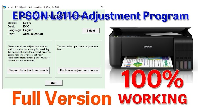 Download Epson L3110 Resetter Tool for Free 2020