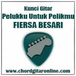 Timbangan Kord Lagu Dasar Mudah Versi Original Kunci Gitar FIERSA BESARI - PELUKKU UNTUK PELIKMU (Original Chord)