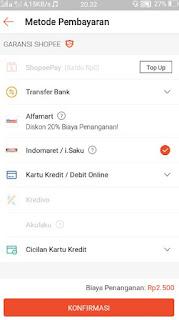 cara belanja online shopee-pilih metode pembayaran