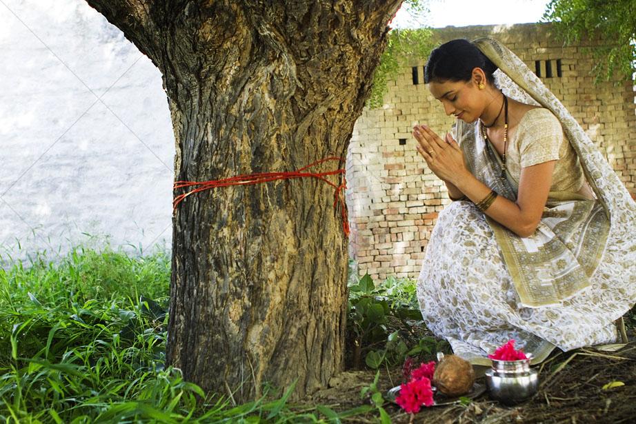 indians Worship Peepal Tree