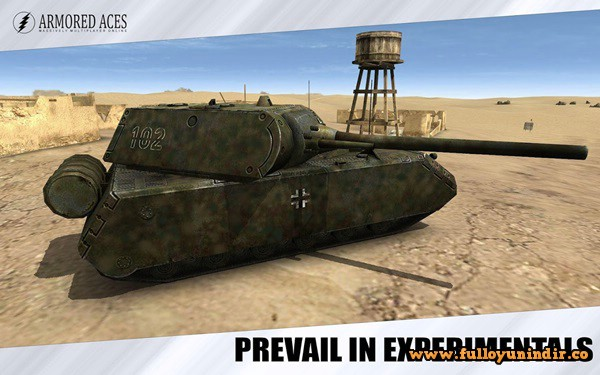 Armored Aces – 3D Tanks Battles Apk indir