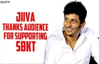 Jiiva Thanks Audience for Supporting SBKT