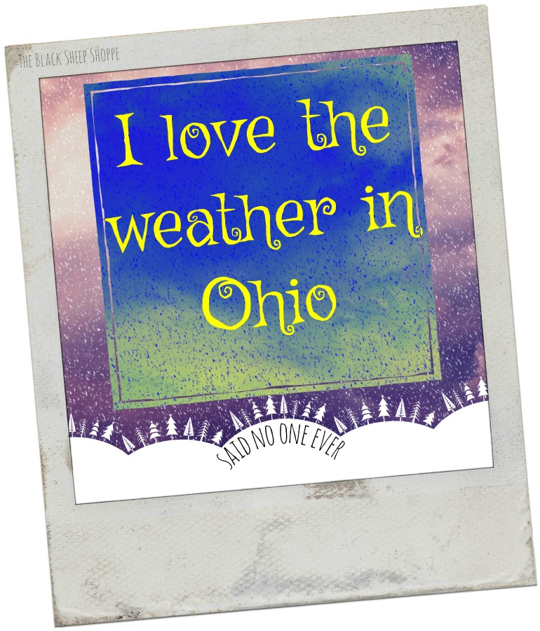 I love the weather in Ohio. Said no one ever.