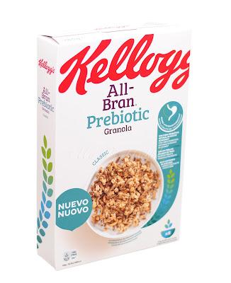 Kelloggs all-bran prebiotic