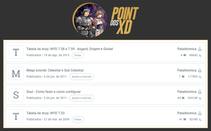 Stats - Point dos XD