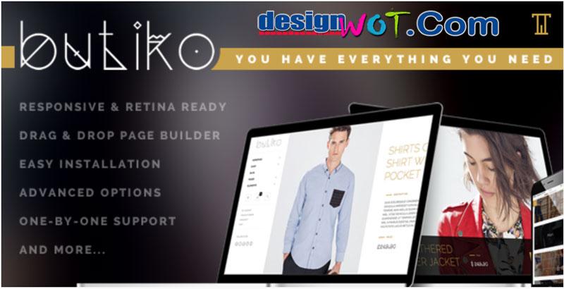 Butiko - Responsive WooCommerce Theme