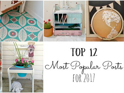 Top 12 Most Popular Posts for 2017