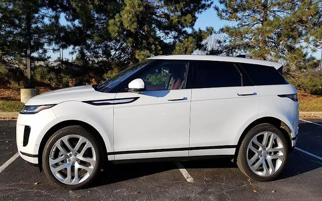 Range Rover Evoque có thiết kế thân xe đặc chưng nhà Range Rover