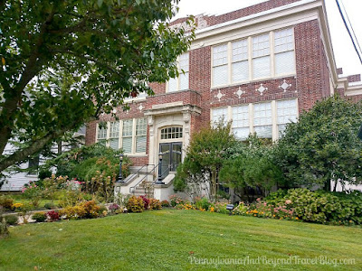 Cape May High School - A National Historic Landmark in New Jersey