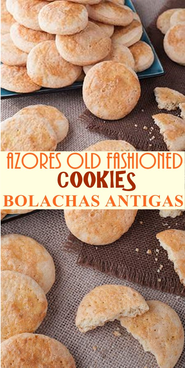 AZORES OLD FASHIONED COOKIES (BOLACHAS ANTIGAS) #Cookiesrecipes