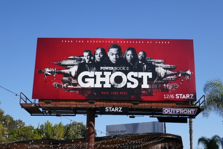 Power Ghost season 1 part 2 billboard
