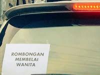 Humor Bahasa : Hati-hati Membelai Wanita