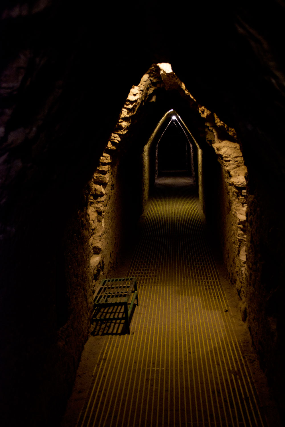 great pyramid of cholula tunnels