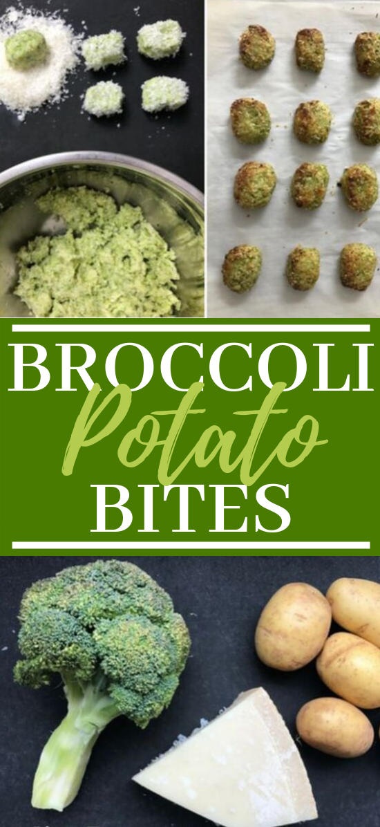 Broccoli Tater Tot Bites #vegetarian #healthy