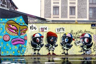 Sunday Street Art : Muebon et Kashink - quai de la Loire - Paris 19