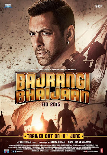 Bajrangi Bhaijaan (2015) Movie Poster No. 3