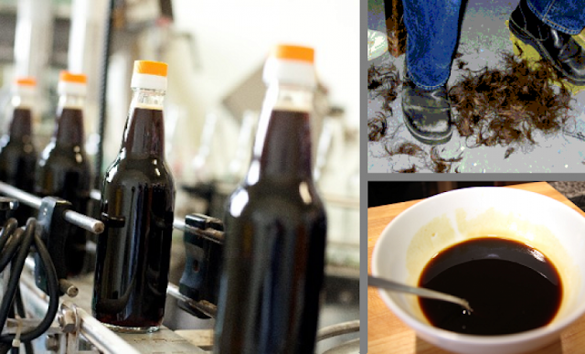 Chinese Soy Sauce Made from Human Hair (Video)