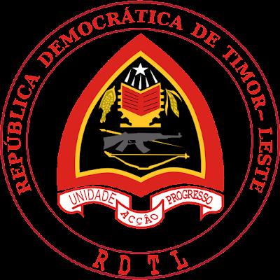 Coat of arms - Flags - Emblem - Logo Gambar Lambang, Simbol, Bendera Negara Timor Leste