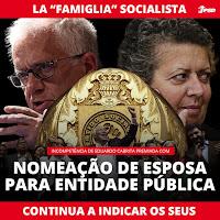 socialismo farsa, censura, corrupção apodrecetuga cabrita esposa