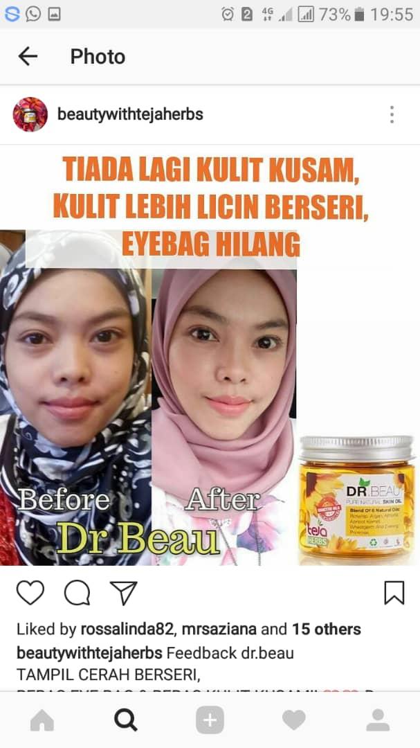 Testimoni serum dr beau