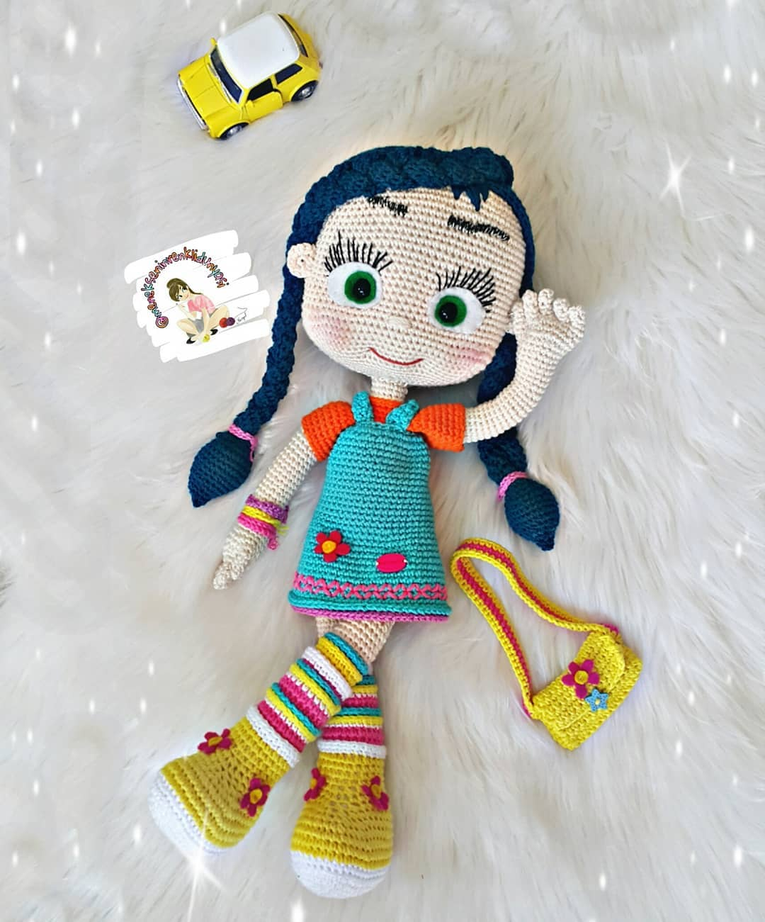 Кукла Висспер амигуруми