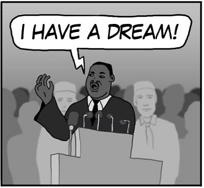 I HAVE A DREAM. HUMOR casi INTELIGENTE