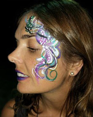maquillaje de fantasia facil