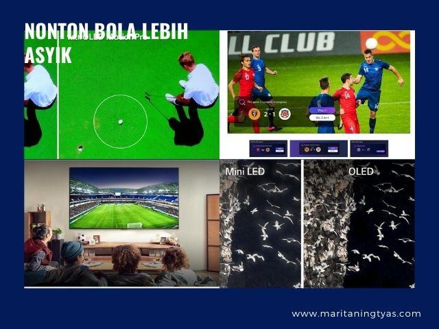 sport in LG OLED TV lebih kece