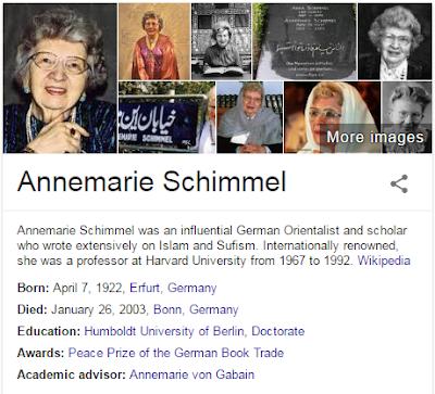 profil Annemarie Schimmel