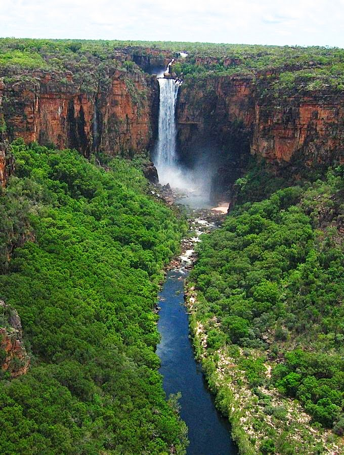 Kakadu National Park, Alligator Rivers Region, Northern Territory-Jim Jim Falls, Kakadu National Park,Kakadu, Australia