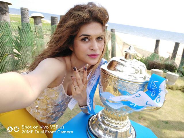 VIVOIPL 2017 Trophy Tour makes a successful debut in Chennai