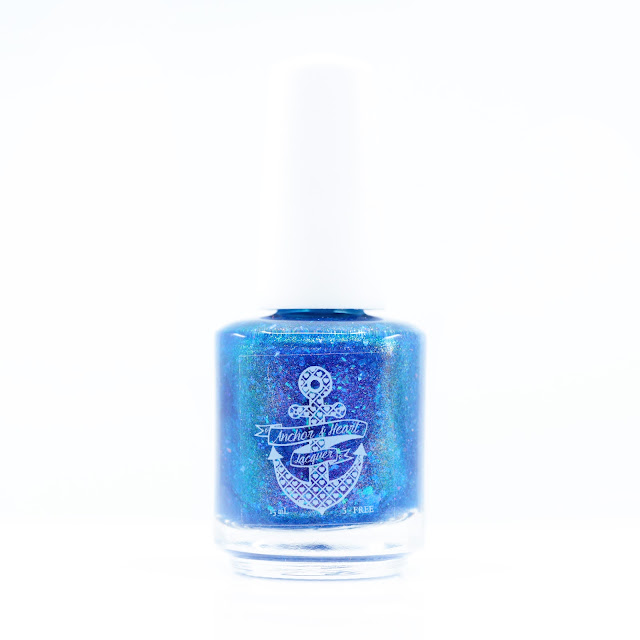 Anchor & Heart Lacquer Wehadababyitsaboy