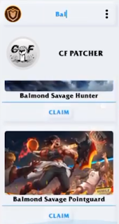 CF Patcher Skin Hero V13 Mobile Legends Gratis Update Terbaru