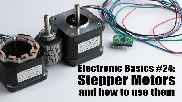 Parameters to be considered for a stepper motor system