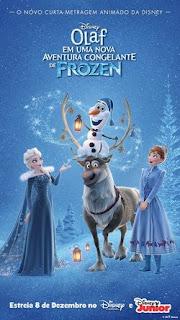 Filme Olaf Em Uma Nova Aventura Congelante de Frozen Dublado