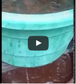 Domestic water filter setup