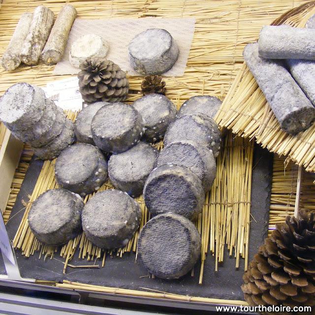 Selles sur Cher and Sainte Maure de Touraine goat cheese, Indre et Loire, France. Photo by Loire Valley Time Travel.