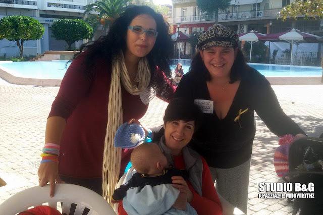 Με μεγάλη συμμετοχή ο Δημόσιος Ταυτόχρονος Μητρικός Θηλασμός στο Άργος