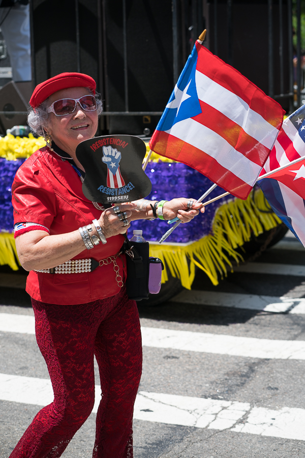 a photo of the new york puerto rican day parade 2017 by daniel south