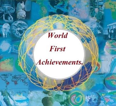 world first achievement